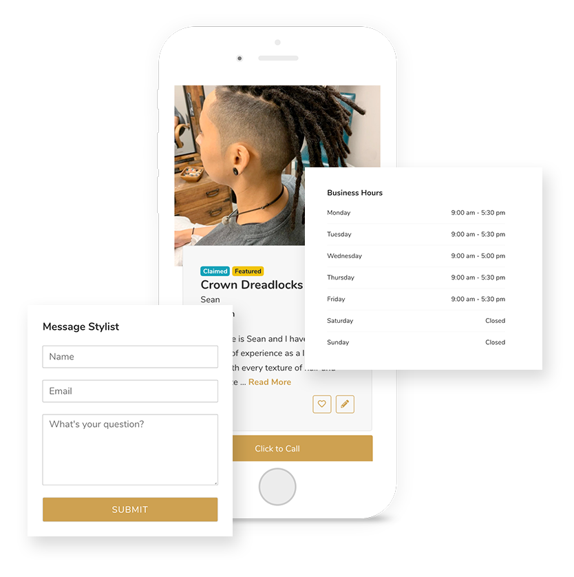 claim your hairstylist profile